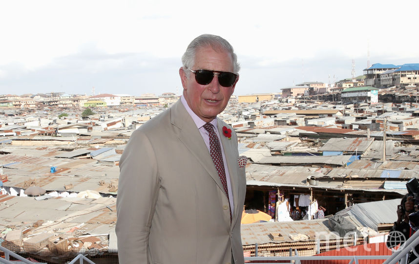 Принц Чарльз с визитом в Гане. Фото Getty