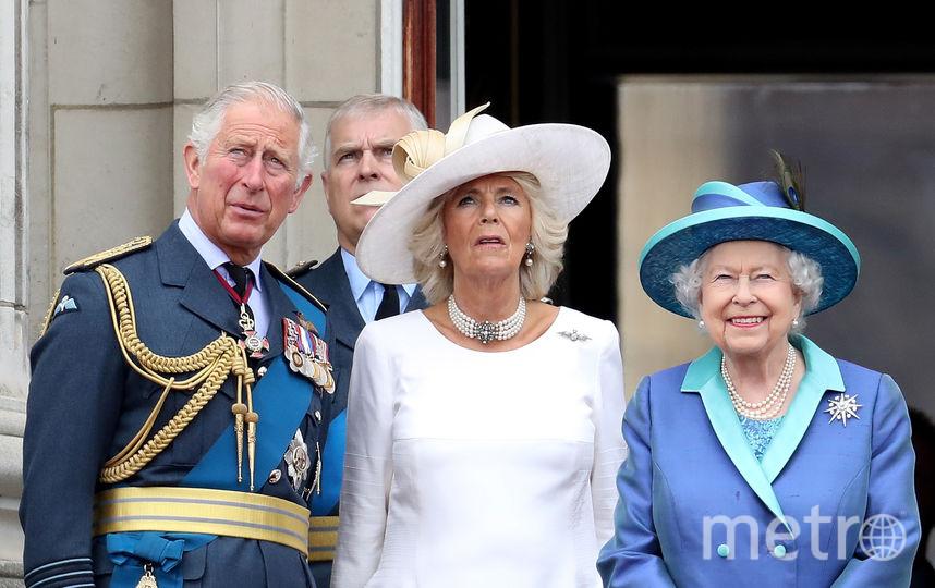 Принц Чарльз с женой и родителями. Фото Getty