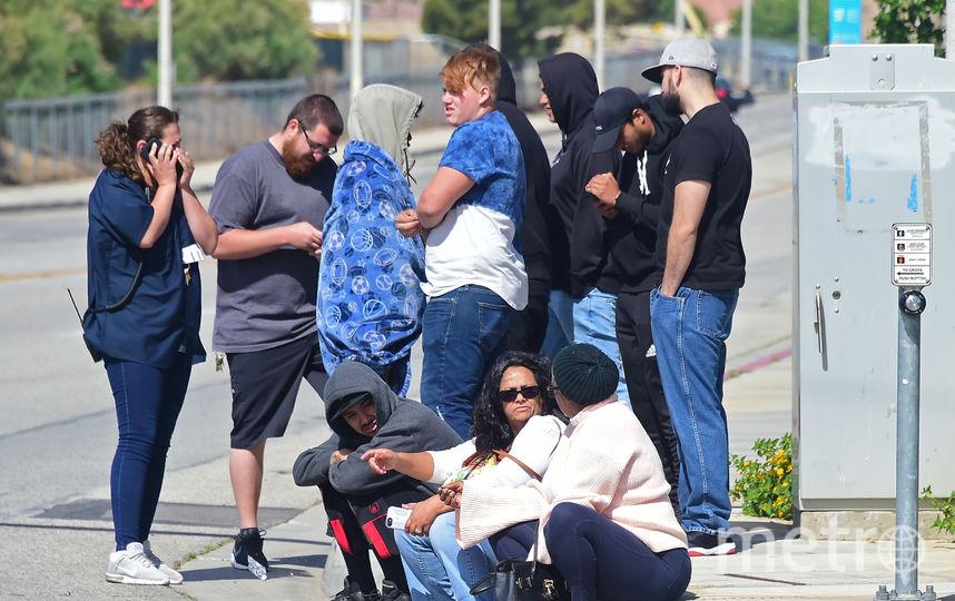 Стрельба произошла в калифорнийском городе Таузанд-Окс. Фото AFP