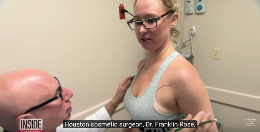 Сара до операции. Фото Скриншот Youtube/watch?v=ThbQI4YCIo0