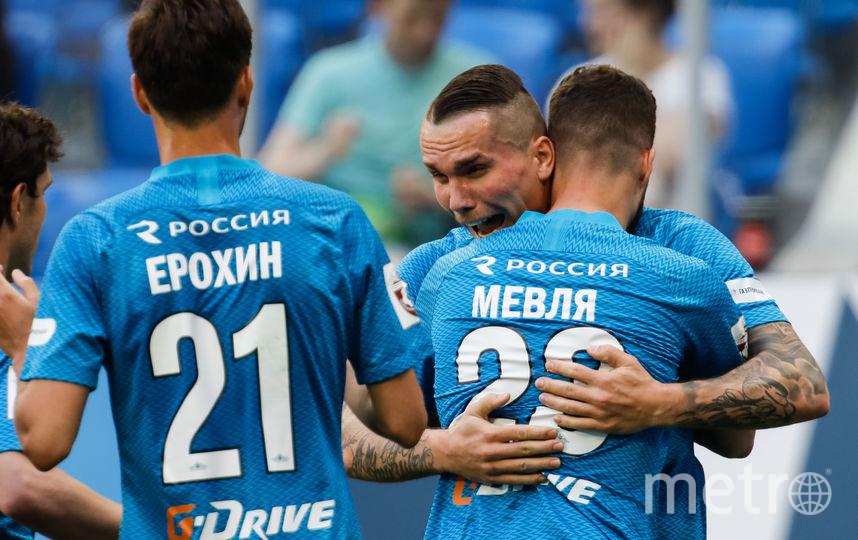 """Заболотный забил единственный гол в составе """"Зенита"""". Фото Getty"""