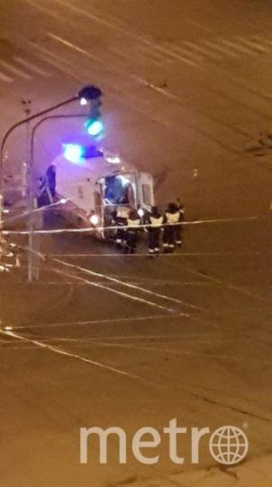 Фото с места аварии. Фото https://vk.com/spb_today