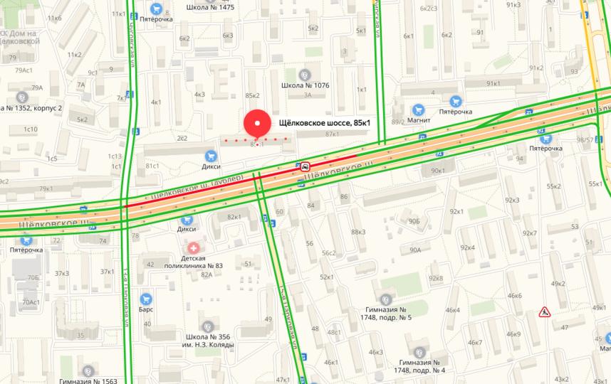 Скриншот yandex.ru/maps/.