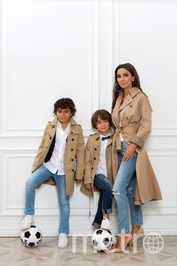 Певица Зара с детьми. Фото Предоставлено агентом певицы