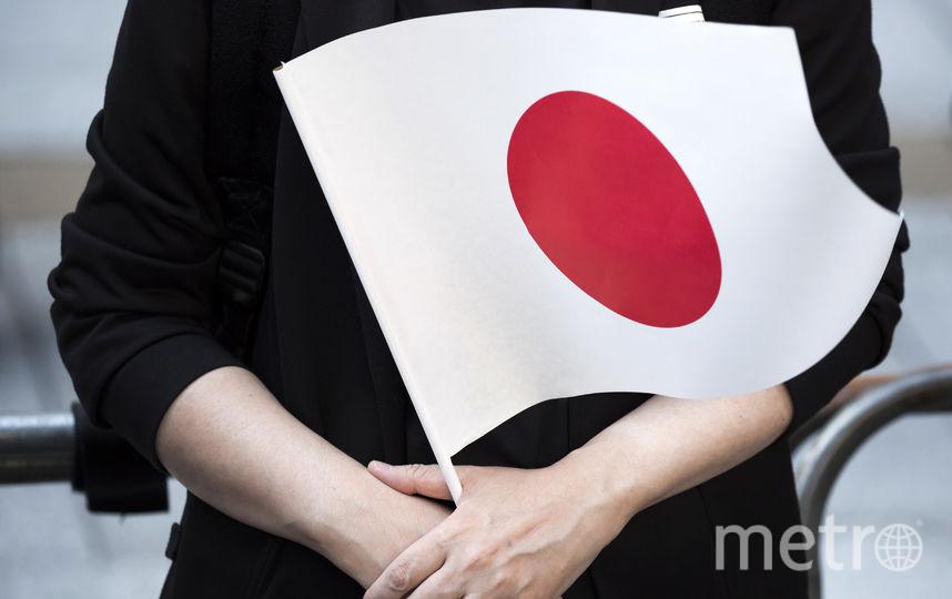 Флаг Японии. Фото Getty
