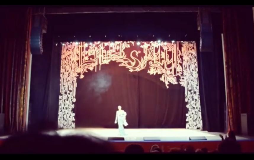 Во время выступления в Красногорске. Фото instagram.com/volochkova_art