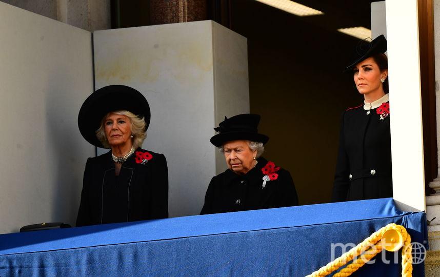 Камилла, Елизавета II и Кэтрин. Фото Getty