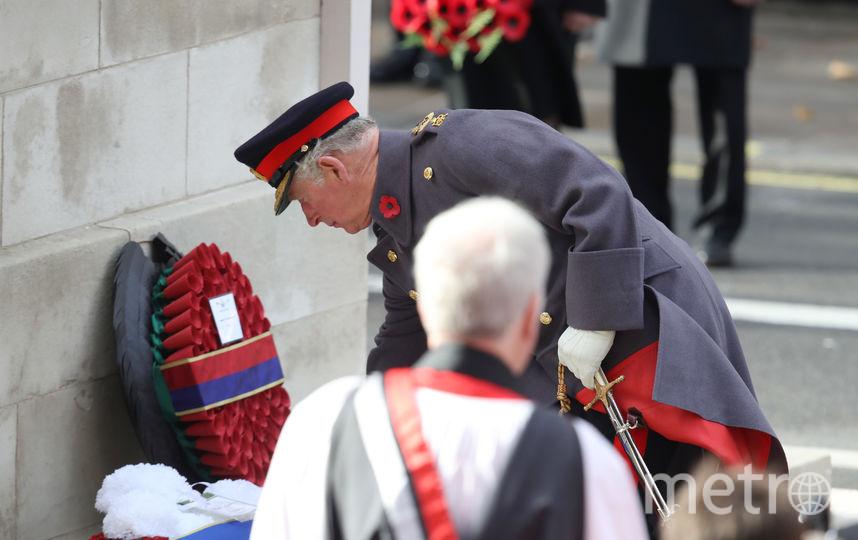 Парад в честь 100-летия окончания Первой мировой войны. Фото Getty