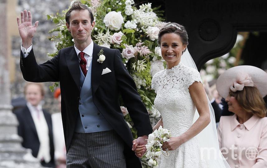 Свадьба Пиппы Миддлтон и Джеймса Мэттьюза. Фото Getty