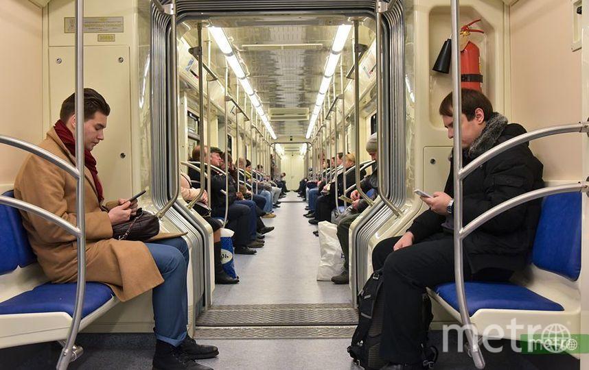 Бензопила и обои: Что ещё пассажиры московского метро забывали в октябре. Фото Василий Кузьмичёнок