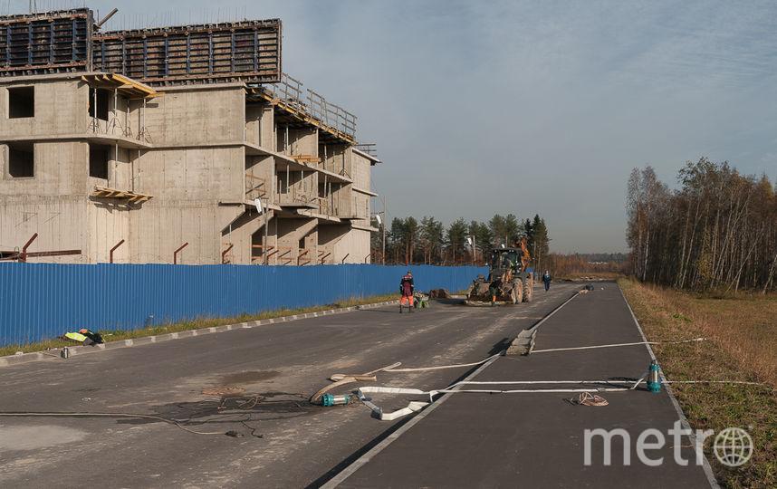 """Удобные подъездные пути к комплексу уже готовы. Фото Петрострой, """"Metro"""""""