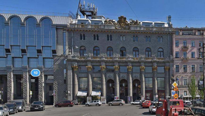"Киноцентр ""Родина"". Фото скриншот Яндекс.Панорамы."
