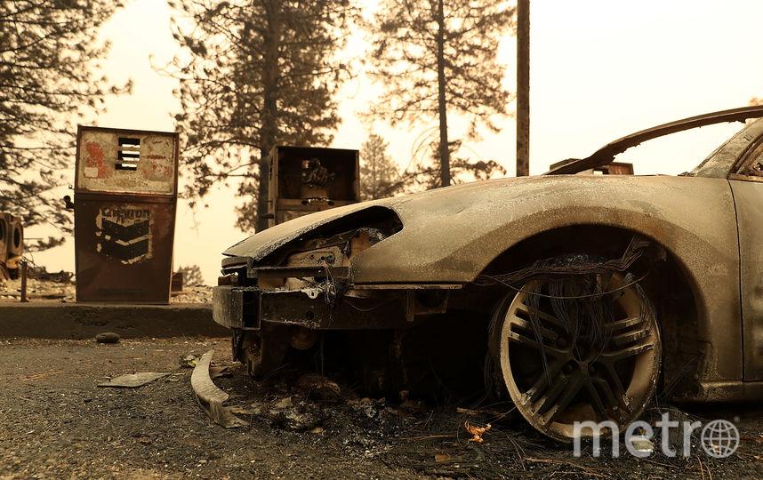 Фото с места пожаров в Калифорнии. Фото Getty