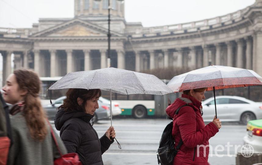 """Погода в Петербурге весь день останется ненастной. Фото Святослав Акимов, """"Metro"""""""