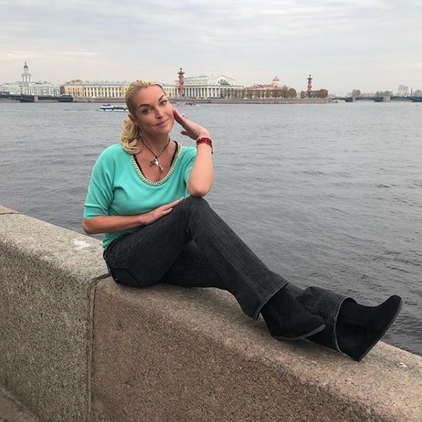 Анастасия Волочкова. Фото Скриншот Instagram: volochkova_art