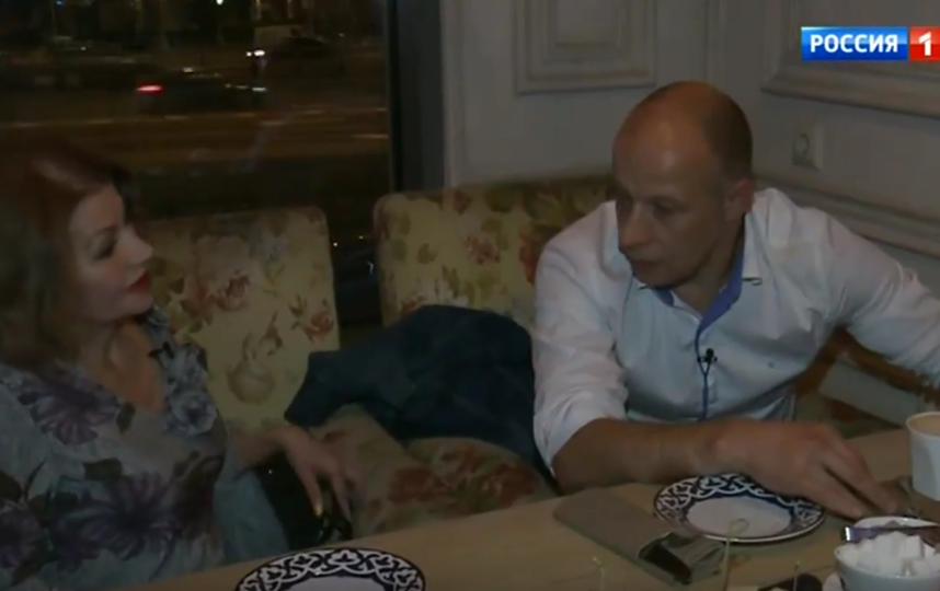 Екатерина Терешкович и адвокат Владислав Пахомов. Фото Скриншот Youtube