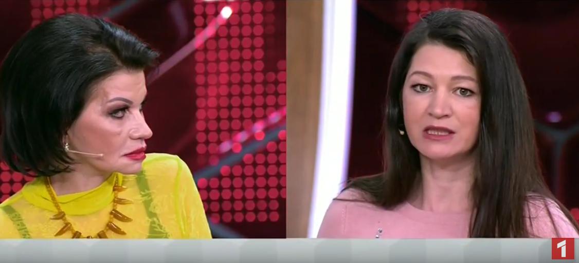 Екатерина Терешкович и ее дочь Полина Давыдова. Фото Скриншот Youtube