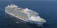 Самый большой в мире лайнер впервые добрался до Америки