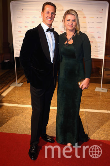Коринна и Михаэль Шумахер. Фото Getty