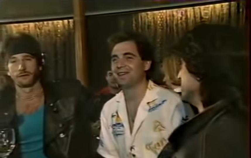 Игорь Тальков и Валерий Шляфман. Последнее интервью певца. Фото Скриншот Youtube