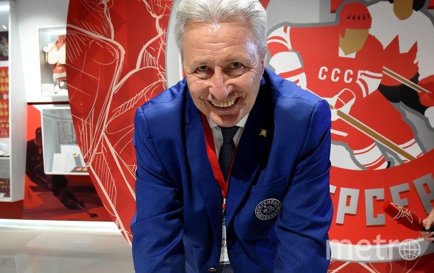 Якушев попал в Зал хоккейной славы в Торонто, хотя не играл в НХЛ. Фото photo.khl.ru | Беззубов Владимир