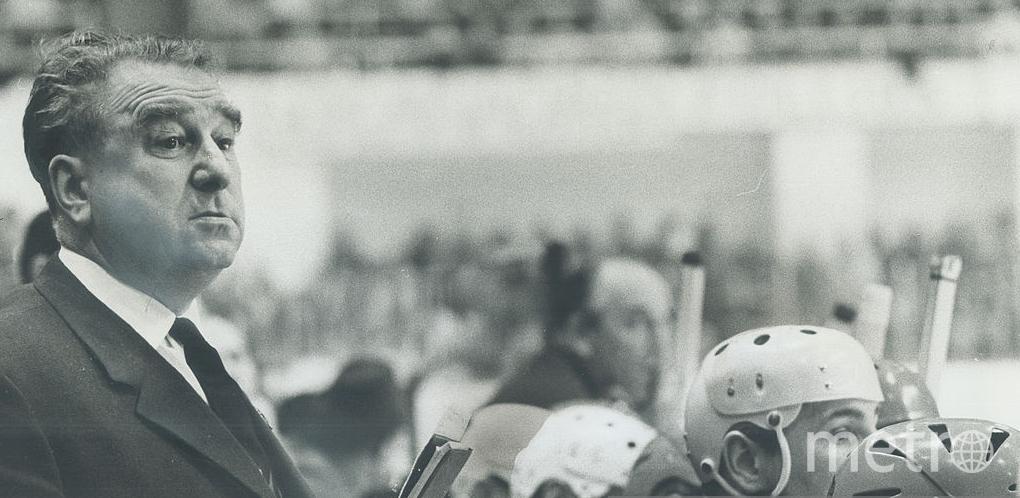 Тарасова называют отцом русского хоккея. Фото Getty