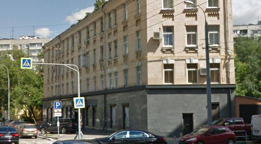 Дома-иллюзии. Фото google.ru/maps/.