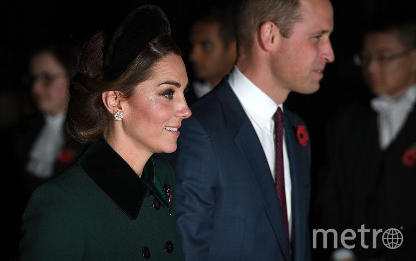 Принц Уильям с женой. Фото Getty