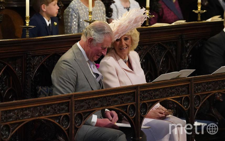 На свадьбе принца Гарри и Меган Маркл в 2018-м году. Фото Getty