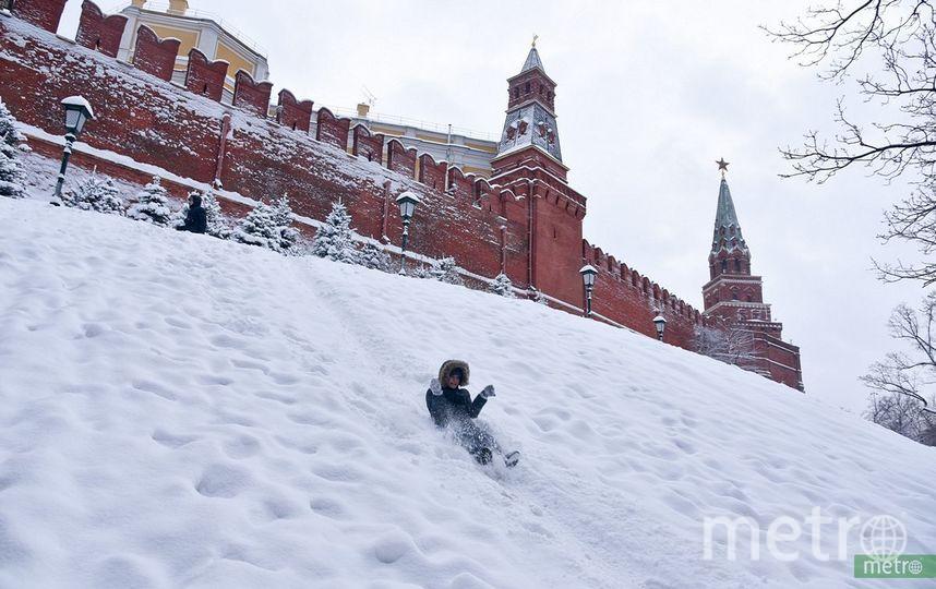 Зима в Москве. Фото Василий Кузьмичёнок