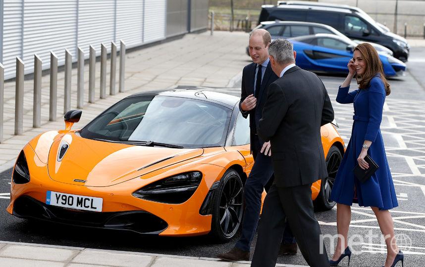 Открытие техцентра McLaren в Йоркшире. Фото Getty