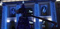 Новый год близко! У Гостиного двора нарядили ёлку: фото