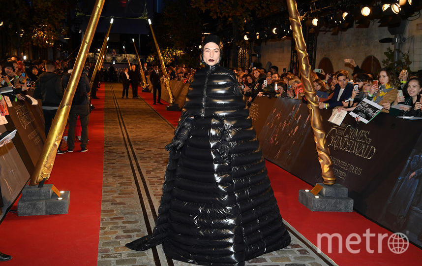 "Эзра Миллер на премьере ""Фантастических тваре"" в Париже. Фото Getty"