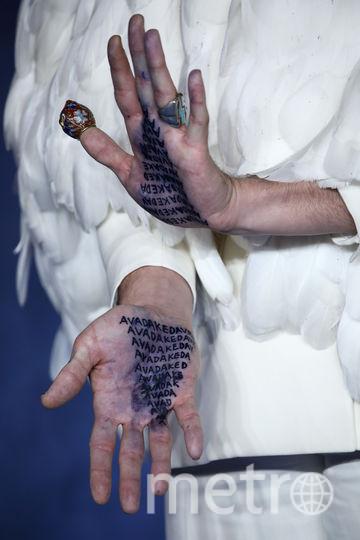 """Эзра Миллер на премьере """"Фантастических тваре"""" в Лондоне. Фото Getty"""