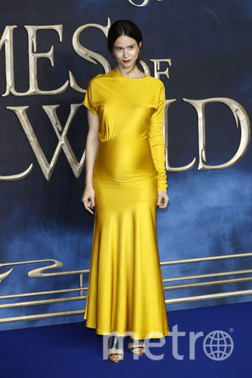 "Кэтрин Уотерстон на премьере ""Фантастических тваре"" в Лондоне. Фото Getty"