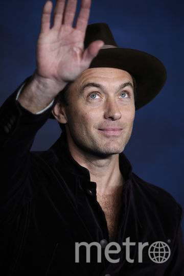 "Джуд Лоу на премьере ""Фантастических тваре"" в Лондоне. Фото Getty"
