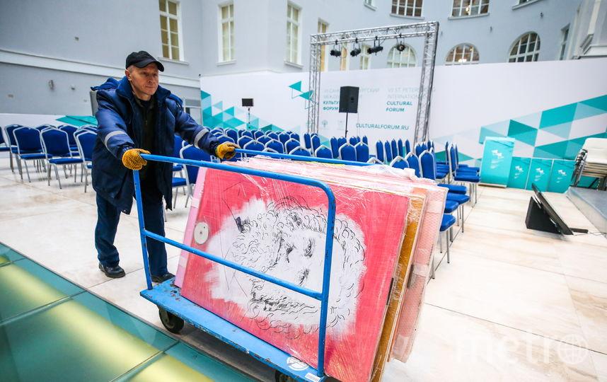 """В Петербурге к форуму всё готово. Фото официальный сайт международного культурного форума /ТАСС, """"Metro"""""""