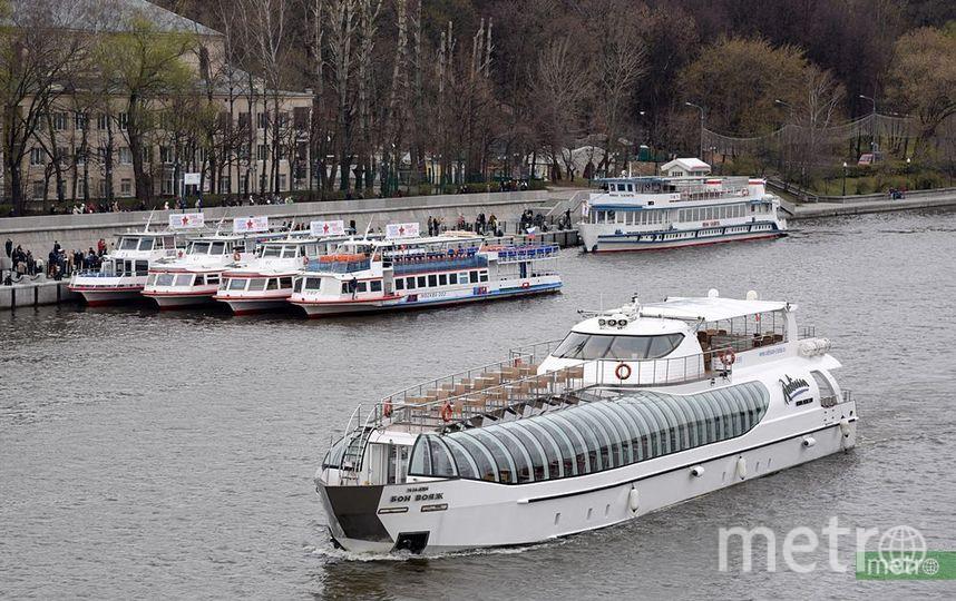 Зимняя пассажирская навигация начала работать по Москве-реке. Фото Василий Кузьмичёнок