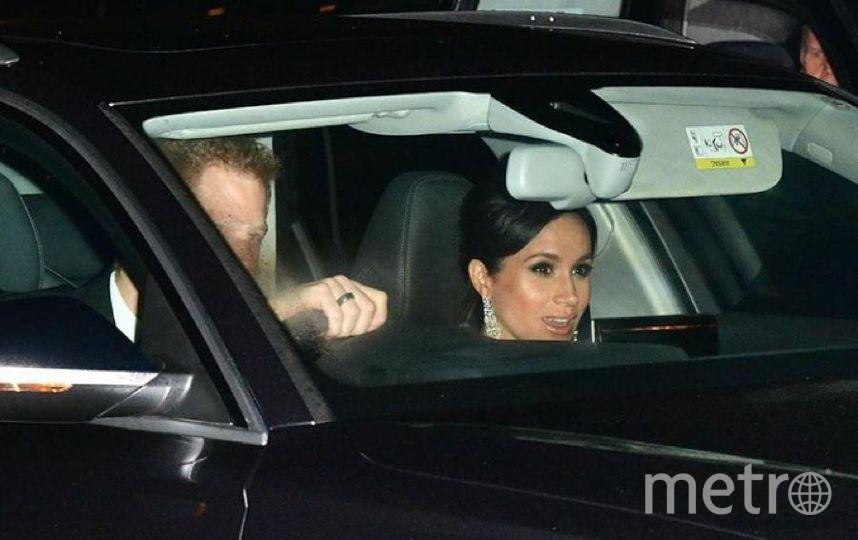 Члены королевской семьи прибывают на торжество. Фото соцсети