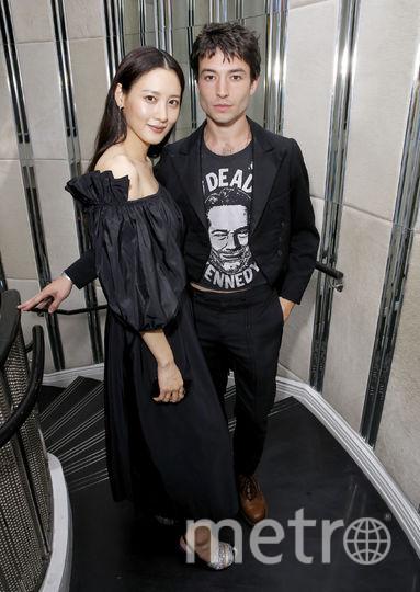 Клаудия Ким и Эзра Миллер. Фото Getty