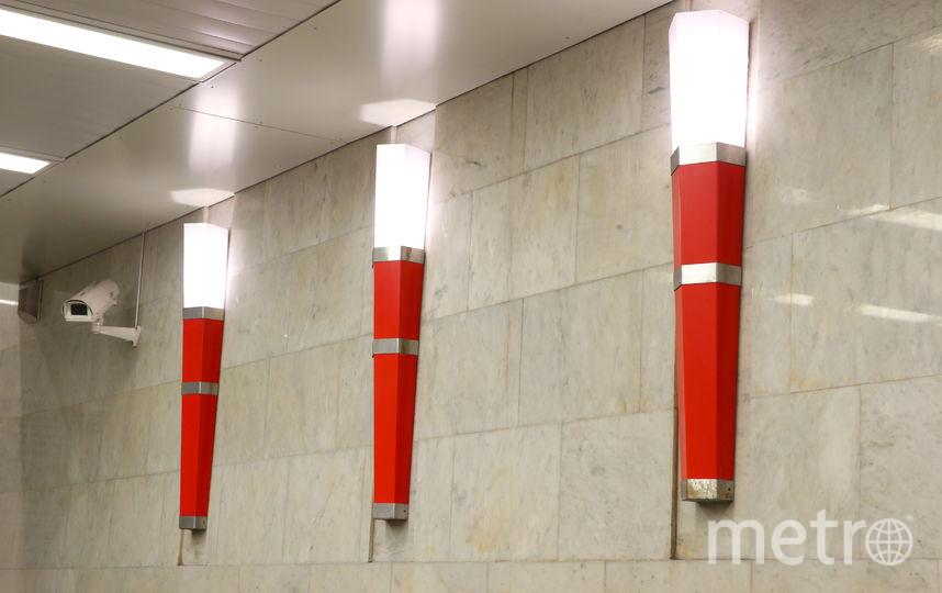 «Факелы» станции. Фото Василий Кузьмичёнок
