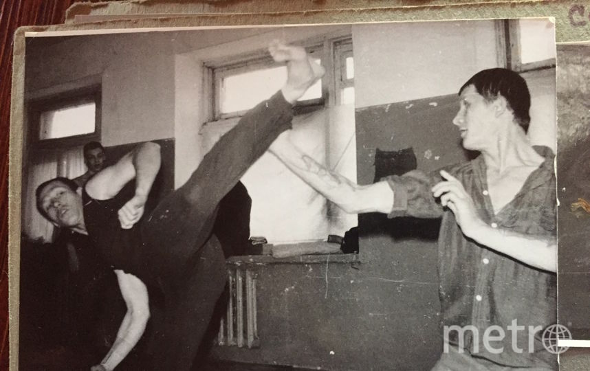 Михаил Орский (слева) в колонии. Фото предоставлено героем публикации.