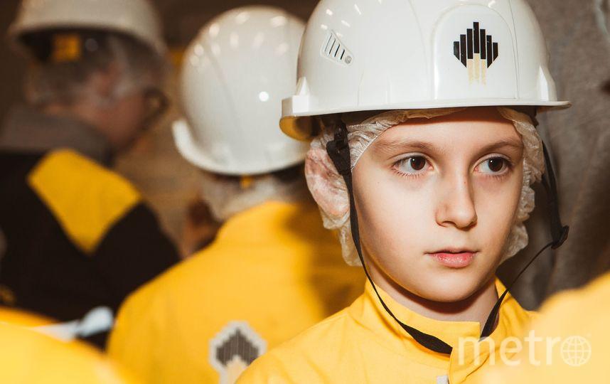 «Роснефть» провела для воспитанников детских домов образовательную экскурсию.