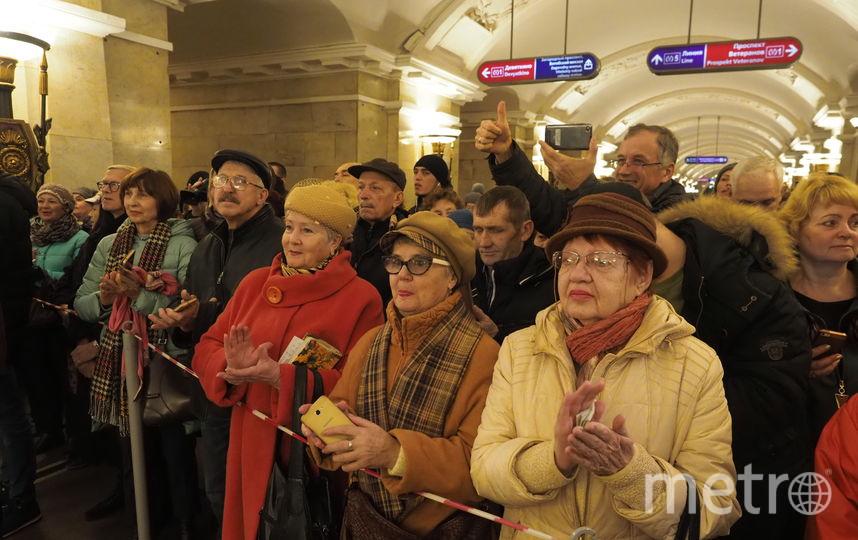 """В метрополитене прошла праздничная акция. Фото Святослав Акимов, """"Metro"""""""