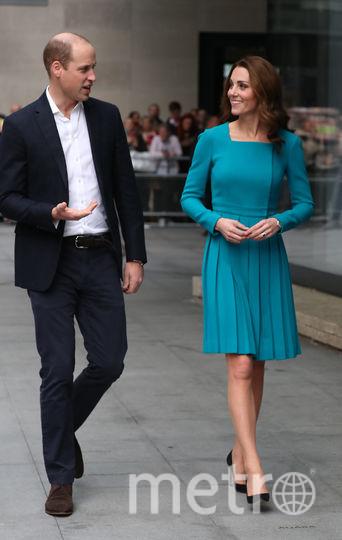 Пара посетила телеканал ВВС. Фото Getty