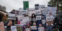 Защитники парка на Смоленке ведут борьбу по всем фронтам