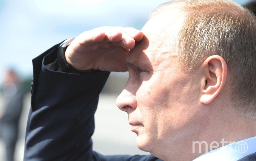 Путин в пятницу будет в Спб. Фото Getty