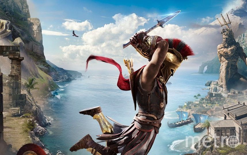 Assassin's Creed Odyssey. Фото Предоставлено создателями