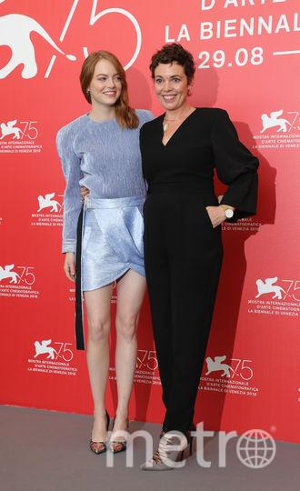 Эмма Стоун и Оливия Колман. Фото Getty