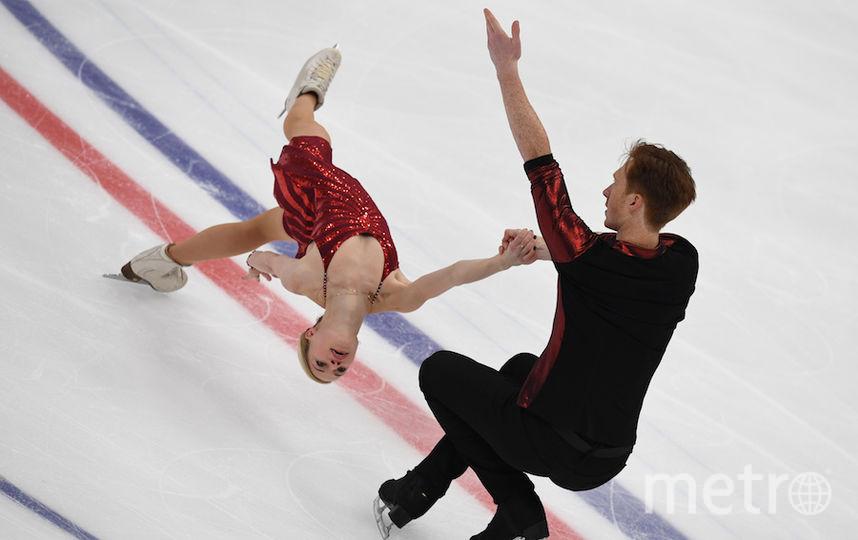 Евгения Тарасова и Владимир Морозов. Фото AFP